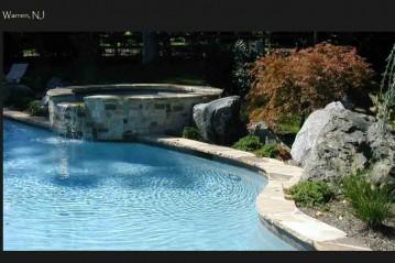 Pool and spa in Warren NJ
