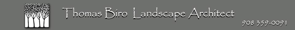 Thomas Biro Landscape Architect logo